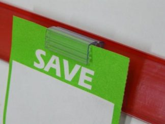 Shelf Talker Clips & Ticket Holders